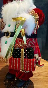 Christmas Santa Doll Table Display