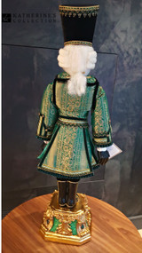 Katherine's Collection Sargent Sage Nutcracker