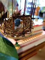 Katherine's Collection Spring Bird Lady Ornament