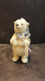 Katherine's Collection Azure Ice Bear Ornament