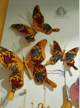 Alice In Wonderland Butterfly Set Tree Decorations