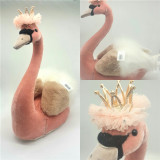 Pink Queen Swan Table Display