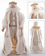 Katherine's Collection Royal Santa Doll Display 61cm Tall