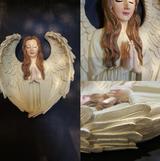 Large Angel Wall Display Ornament