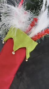 Christmas Tree Stocking Decoration