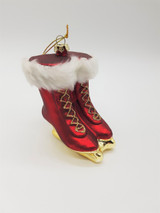 Katherine's Collection Glass Skating Boot Decoration