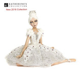 Winter Wonderland Sitting Ballerina Doll Display Beautifull hand detail with lavish materials and trims.