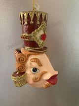 Goodwill Nutcracker Kissing Fish Tree Ornament