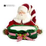 Katherine's Collection 2018 Santa Serving Tray 56cm