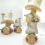 Katherine's Collection Set Two Mushroom House Display