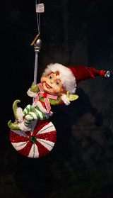 Katherine's Collection Candy Elf Tree Decoration