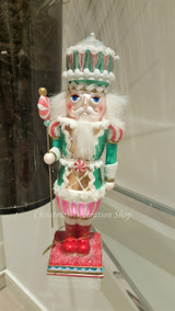 Katherine's Collection Candy Glass Nutcracker Display