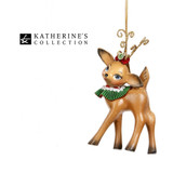Katherine's Collection Standing Reindeer Tree Ornament 14cm
