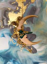 Goodwill Jester Masked Moon Tree Ornament