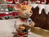 Goodwill Holly Choir Mice Christmas Ornament