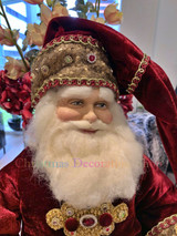 Katherine's Collection 2020 Gifts Santa Doll