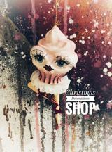 Goodwill Cupcake Lady Tree Ornament
