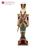 GIFTS OF XMAS NUTCRACKER TT BURG/GRN 81CM