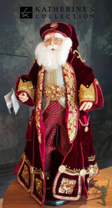 Katherine's Collection Christmas Santa Doll