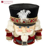 NUTCRACKER CANDY CONTAINER TT RD/BLK/GLD 26,5CM