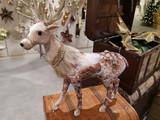 Goodwill Standing Bejewelled floral reindeer
