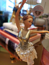 Goodwill Pearl Ballerina Tree Ornament