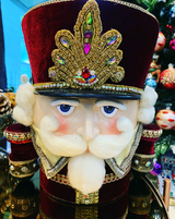 Katherine's Collection Nutcracker Tree Topper SOLD OUT