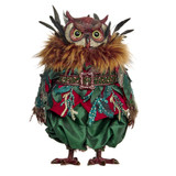 FAIRY FOR.LEAF OWL DOLL TT GRN 35CM