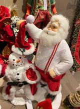 Katherine's Collection 2020 Santa Dressing Snowman