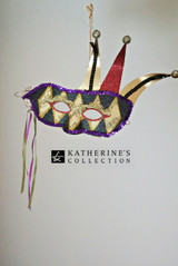 Katherine's Collection Jester Mask Decoration