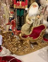 Goodwill Nutcracker Sleigh Christmas Display