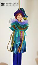 Katherine's Collection Jester Tree Decoration