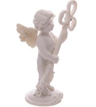 Cherub Holding Magic Key