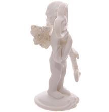 Cherub Ornament Holding Magic Key