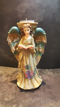 Angel Candle Holder Ornament