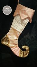 Elf Gold Stocking
