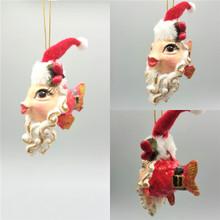 Mr Clause Kissing Fish Christmas Tree Ornament Display