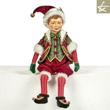 Tartan Tradition Elf Doll Display Katherine's Collection 2018