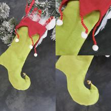 Christmas Elf Tree Stocking Display
