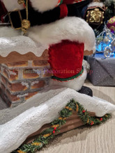 Katherine's Collection 2019 Santa Climbing Chimney