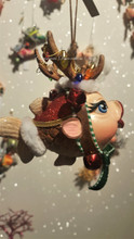 Katherine's Collection Reindeer Kissing Fish