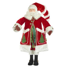 NIGHT BEFORE SANTA DOLL RD/WH/GRN 91CM