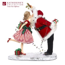 Meet Me Under the Mistletoe 2019 Collection Mr & Mrs Claus Ornament