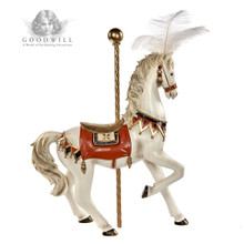 Goodwill 2019 Circus Carousel Horse Display