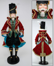 Katherine's Collection Nutcracker Doll Display