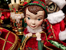Katherine's Collection 2019 Elf With Candy Bag