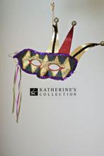 Katherine's Collection Jester Mask Decoration