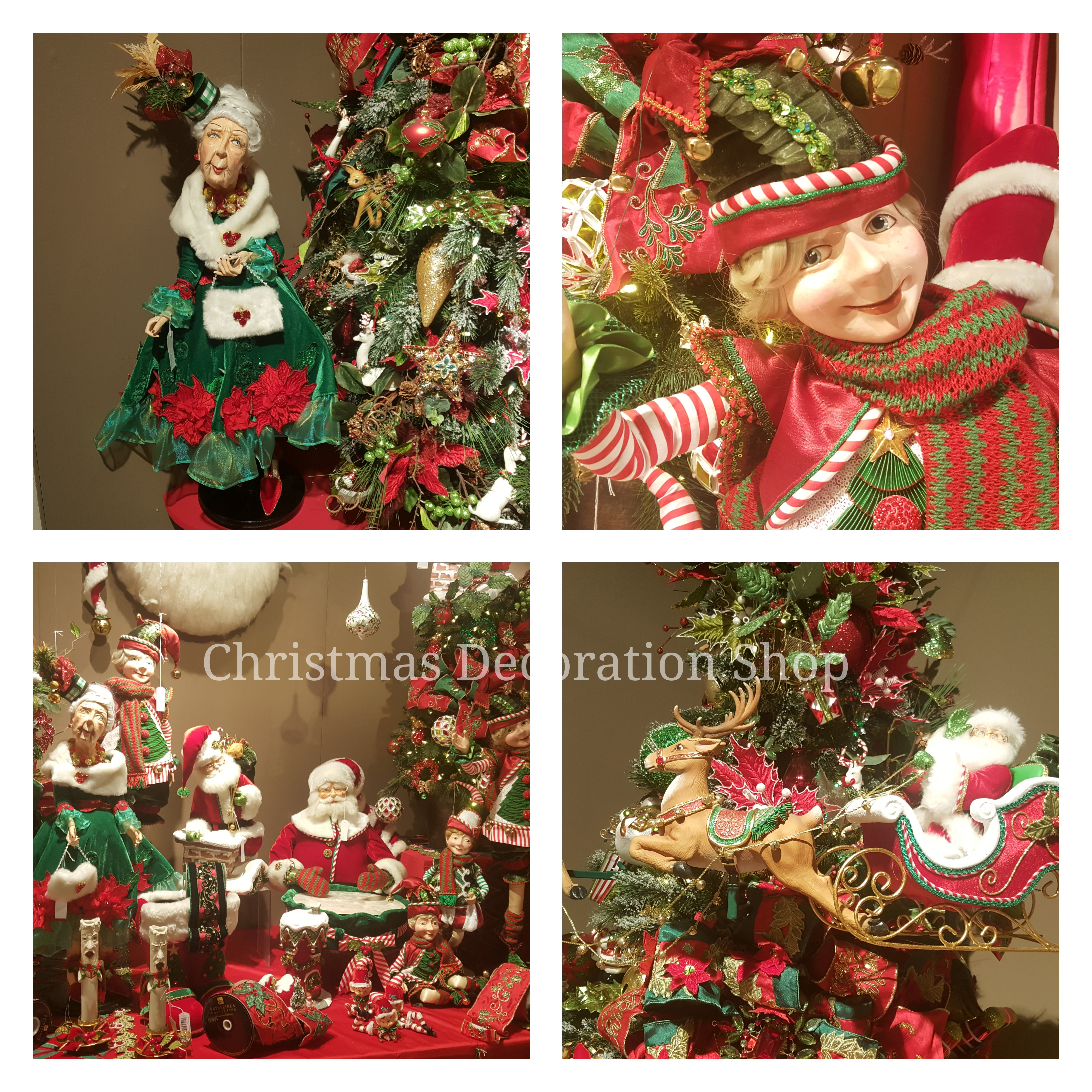 22 Awesome Christmas Figurine Decorations - Style Motivation |Christmas Decorations Online
