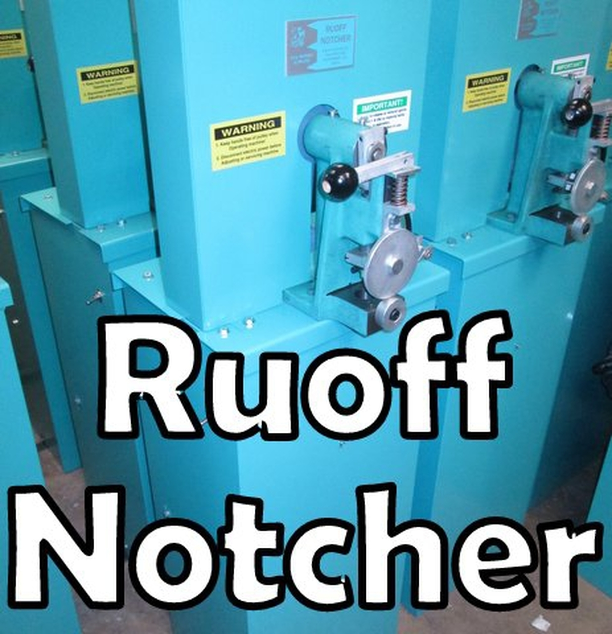 Ruoff Notcher Parts