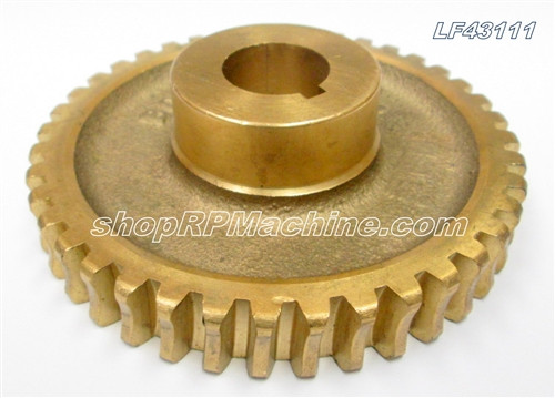 43111 Bronze Worm Gear for 16-18 Auto Guide Flanger